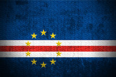 Grunge Flag Of Cape-verde royalty free stock photos