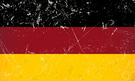Grunge flag country - Germany Stock Images