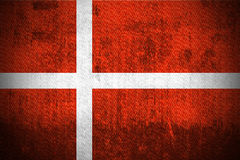 Grunge Flag Of Denmark Royalty Free Stock Photography