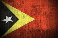Grunge Flag Of East Timor Stock Image