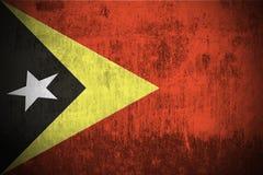 Grunge Flag Of East Timor stock image