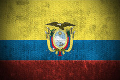 Grunge Flag Of Ecuador Stock Photos