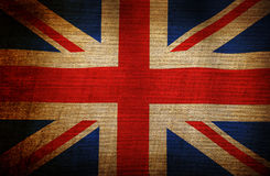 Grunge flag of England Stock Images