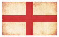 Grunge flag of England Royalty Free Stock Photography