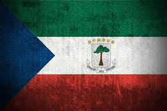Grunge Flag Of Equatorial Guinea Royalty Free Stock Image