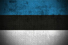 Grunge Flag Of Estonia Royalty Free Stock Images
