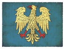 Grunge flag of  Friuli Italy Royalty Free Stock Photos