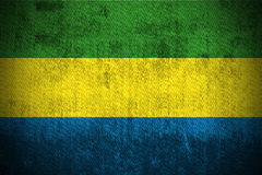 Grunge Flag Of Gabon Royalty Free Stock Photo