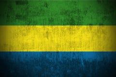 Grunge Flag Of Gabon royalty free stock photo