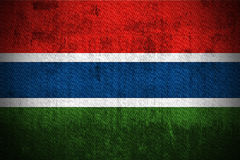 Grunge Flag Of Gambia Royalty Free Stock Images