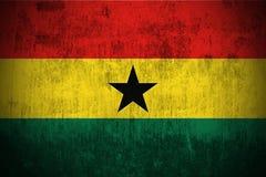 Grunge Flag Of Ghana stock images