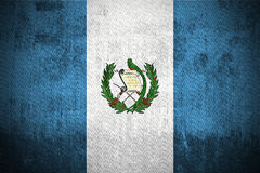 Grunge Flag Of Guatemala Royalty Free Stock Photo