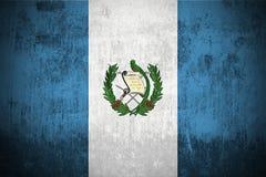 Grunge Flag Of Guatemala royalty free stock photo