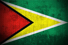 Grunge Flag Of Guyana Royalty Free Stock Photo