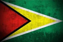 Grunge Flag Of Guyana royalty free stock photo