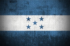 Grunge Flag Of Honduras Royalty Free Stock Photos