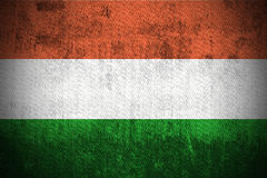 Grunge Flag Of Hungary Stock Image