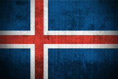Grunge Flag Of Iceland Stock Photo