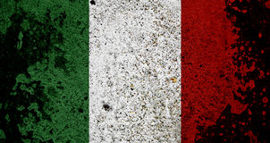 Grunge Flag Of Italy Stock Image