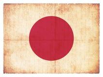 Grunge flag of  Japan Stock Photo