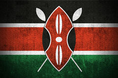 Grunge Flag Of Kenya Stock Photos