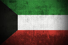 Grunge Flag Of Kuwait royalty free stock images