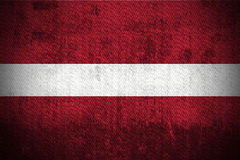 Grunge Flag Of Latvia Stock Image