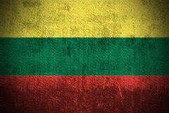 Grunge Flag Of Lithuania Stock Image