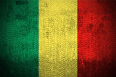 Grunge Flag Of Mali Royalty Free Stock Images