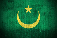 Grunge Flag Of Mauritania Stock Images