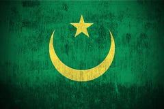 Grunge Flag Of Mauritania stock images