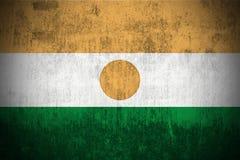 Grunge Flag Of Niger royalty free stock photos