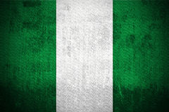 Grunge Flag Of Nigeria Royalty Free Stock Images