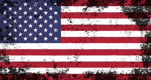 Free Grunge Flag Of American Royalty Free Stock Photography - 151039597