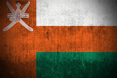 Grunge Flag Of Oman royalty free stock images
