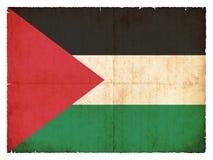 Grunge flag of Palestine Royalty Free Stock Image