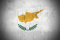 Grunge Flag Of Republic of Cyprus Stock Image