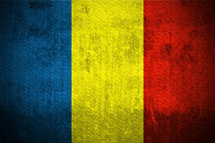 Grunge Flag Of Romania Stock Image