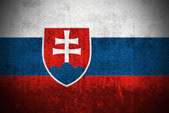 Grunge Flag Of Slovakia Stock Photo