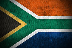 Grunge Flag Of South Africa Royalty Free Stock Photo