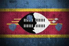 Grunge Flag Of Swaziland Stock Images