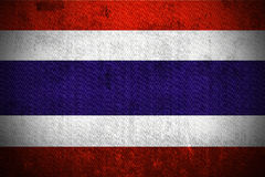 Grunge Flag Of Thailand Royalty Free Stock Photography
