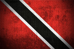 Grunge Flag Of Trinidad and Tobago Royalty Free Stock Photo