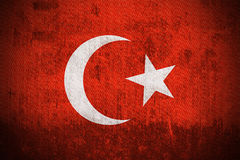 Grunge Flag Of Turkey Stock Photo