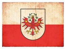 Grunge flag of Tyrol Austria Stock Photos