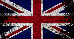 Grunge Flag Of UK Royalty Free Stock Image