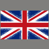 Grunge Flag of United Kingdom Stock Photo