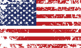 Grunge flag of United States Stock Photos