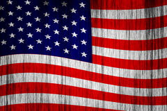 Grunge Flag Of USA Royalty Free Stock Image