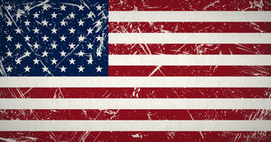 Grunge flag USA Stock Photos